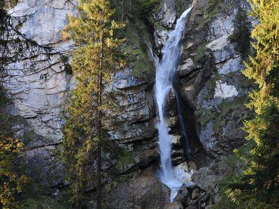 """Der """"Keilkeller"""" Wasserfall"""