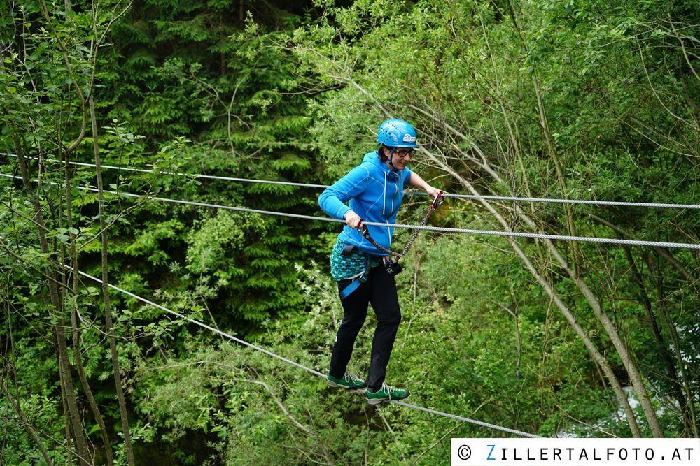 Klettersteig Talbach : Klettersteiggehen in mayrhofen