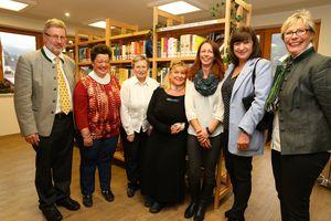 Das ehrenamtliche Team der Bücherei Hippach u. U.